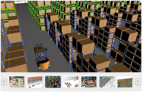 warehouse layout simulation warehouse simulation 3d dynamic simulation software for