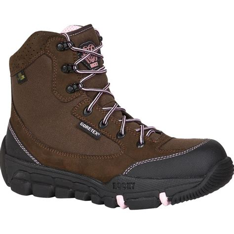 womens insulated boots womens pink insulated tex 174 athletic mobility boots