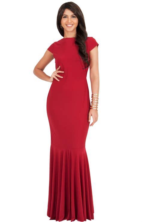 Maxi Dress Brenda brenda sleeve hour glass ruffle gown maxi dress
