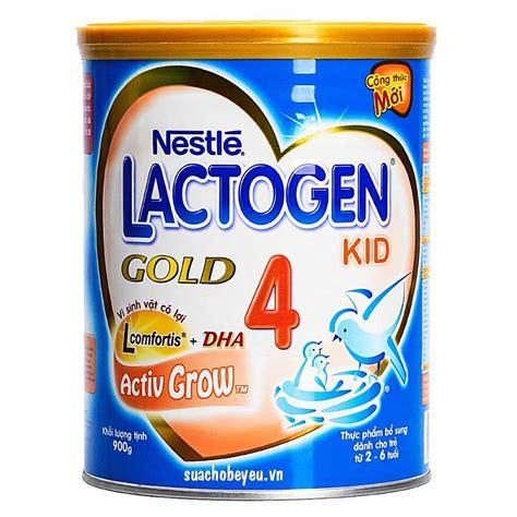 Lactogen Gold 4 Sữa Lactogen Gold 4 900gr 2 6 Tuổi Nestle Suachobeyeu Vn