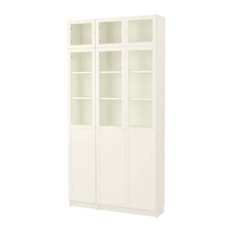 billy libreria ikea billy oxberg bookcase white glass ikea