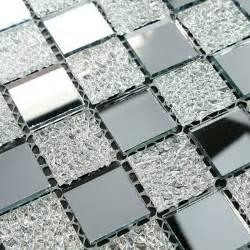 Fireplace Wall Sticker crystal glass tiles sheet diamond mosaic art wall sticker