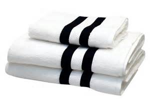 black white bath towels manhattan itsy bitsy ritzy shop
