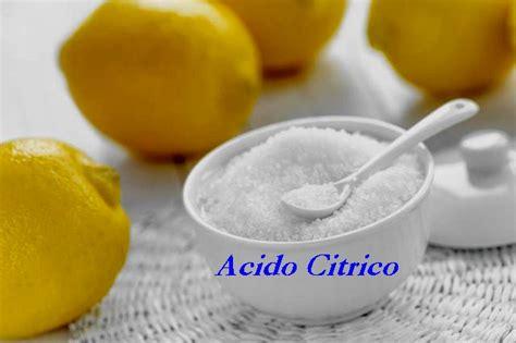 acido citrico alimentare dove si compra acido citrico