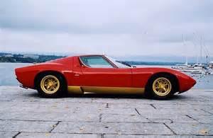 Lamborghini Vintage Cars 1965 Lamborghini Miura So So Low Classic Italian