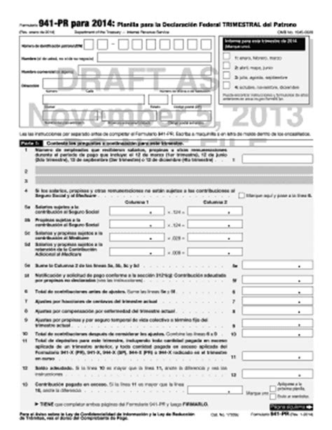 irs form 941 2016 blank 941 pr 2015 online fillable fill online printable