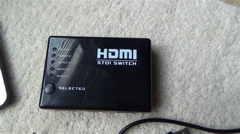 use of hdmi how to use a hdmi switch