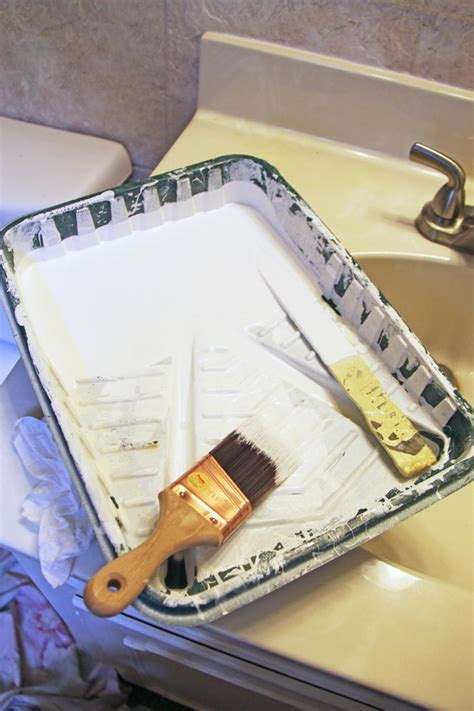 how to prepare a bathroom ceiling for painting painting a bathroom ceiling w empowerment