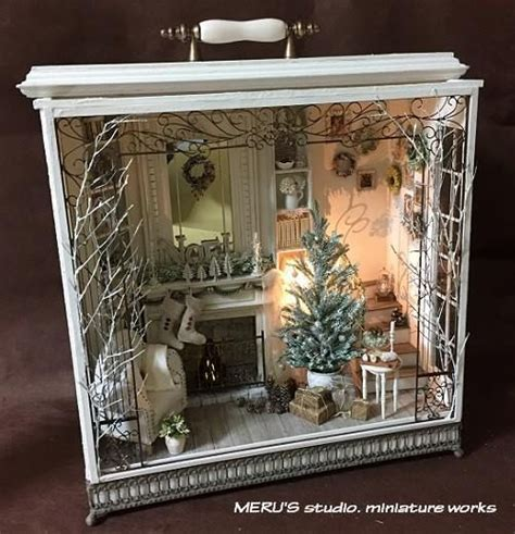 studio b miniatures vignettes christmas room 1 25 unique shadow box ideas on pinterest pictures of
