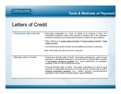 Financial Standby Letter Of Credit Risk Weight Trade Connect Finance All Slides