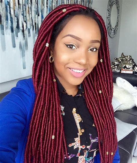 steps for doing yarn dreads faux locs braids fauxlocs protective styles natural