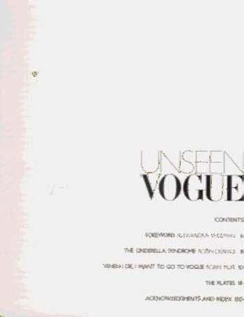 libro unseen vogue the secret unseen vogue by robin derrick robin muir waterstones