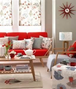 Cheap Retro Sofa 14 Salas Decoradas Con Sof 225 S Color Rojo