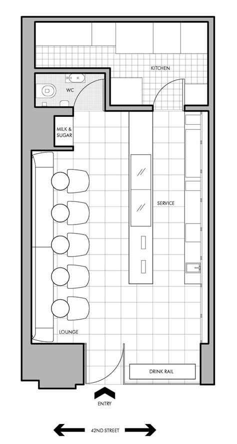 desain layout cafe cafe floor plan bistro deli juice bar venue
