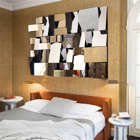deco chambre tete de lit id 233 e d 233 co n 176 13 une chambre avec un miroir facett 233 plac 233