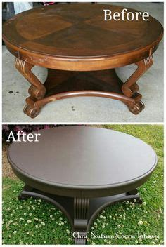 how to protect wood table from water turn a scratched coffee table into this with chalk paint