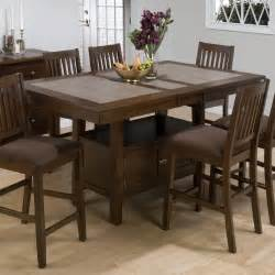 Tile Dining Room Table Jofran Trumbull Tile Top Counter Height Storage Dining