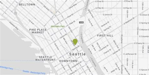 seattle map with hotels downtown seattle hotels kimpton hotel vintage seattle