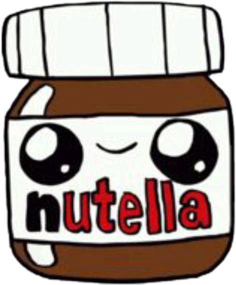 imagenes kawaii de nutella cute nutella kawaii draw dibujo tierno