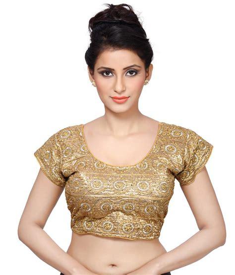 Jedar Blouse 2 N1 msm gold brocade blouses buy msm gold brocade blouses