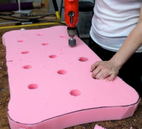 Cutting Upholstery Foam by Spruce Upholstery Spruce Upholstery Tip Using A Saw