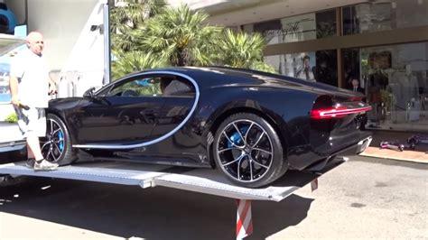 bugatti chiron dealership check out bugatti chiron unloaded at monaco dealer