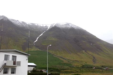 besta village first snow of the winter in the westfjords icelandmag