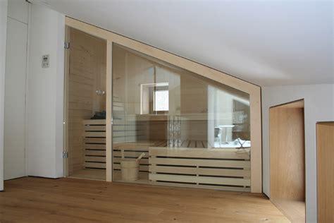 dachschrã ge sauna in der dachschr 228 ge grandl sauna und innenausbau gmbh