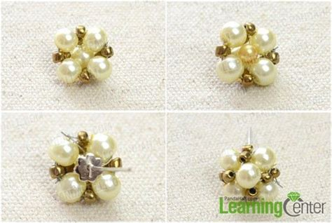 how to make sted jewelry how do you make handmade pearl stud earrings step by step