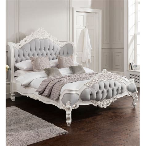 antique french style bed shabby chic fabric beds from