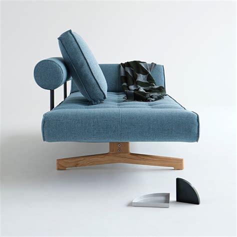letto divano singolo divano letto singolo ghia in tessuto con cuscini e