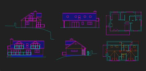 Ordinary Front View Of A House Plan #5: Autocad-clean-up.jpg