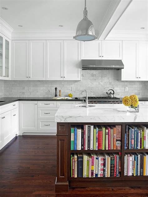 kitchen bookcase ideas 15 unique kitchen ideas for storing cookbooks