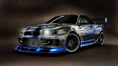 nissan gtr skyline fast and furious nissan skyline gtr r34 fast and furious 108 mobmasker