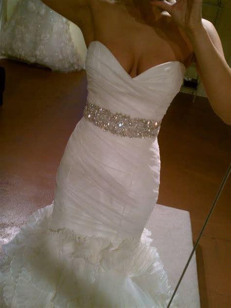 dress and sash wedding dress jewelry lismora