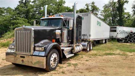 kw truck for sale by owner kenworth w900l 1996 sleeper semi trucks