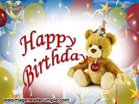 imágenes de rosas de happy birthday im 225 genes de feliz cumplea 241 os con osito de peluche