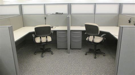Office Furniture Cubicles by 6x6 Haworth Premise Used Cubicles With Frosted Glass Spine