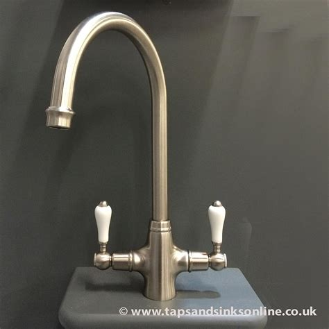 San Marco Boston Kitchen Taps Brushed Nickel from Only £
