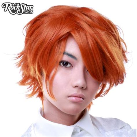 short ginger male wig redhead wigs dolluxe 174