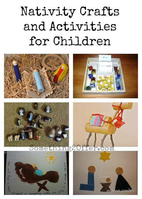 nativity crafts 10 nativity crafts and activities for children