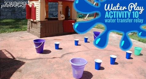 new year water activities 10 water play activities for toddlers and preschoolers