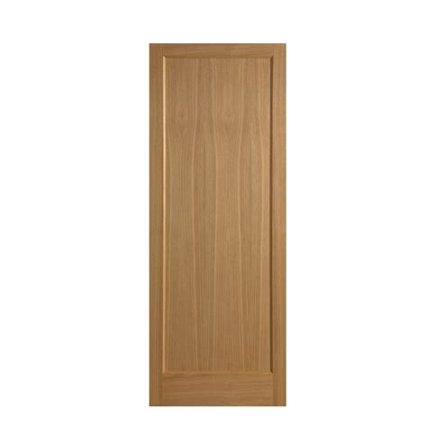 Oak Veneer 1 Panel Interior Door Next Day Delivery Oak Oak Veneer Interior Doors