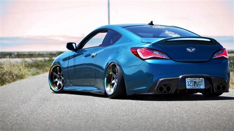 Tuned Up Cars Wallpapers by Wallpaper Sports Car Tuner Car Hyundai Genesis Import
