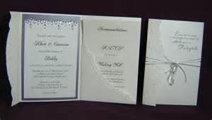 tale wedding invitation about paper