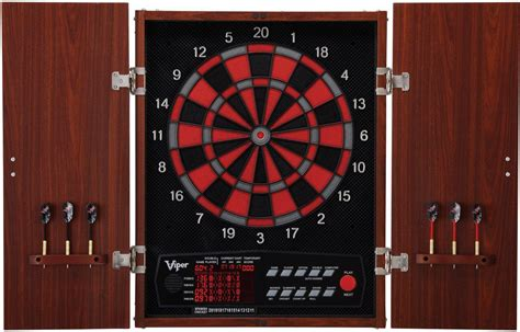 Electronic Dart Boards With Cabinet by Viper Cat Neptune Electronic Board And Cabinet Darts