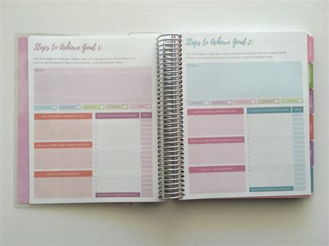 free printable goal planner 2018 officeworks otto goals planner for 2018 review video