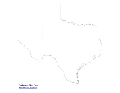 texas state outline map 7 best images of printable outline of texas texas outline clip texas state outline and