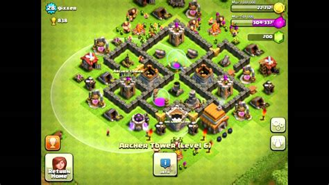 layout coc town hall 5 clash of clans town hall 5 farming defense best base