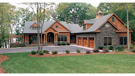 One Story Lake House Plans | craftsman one story house plans craftsman house plans lake